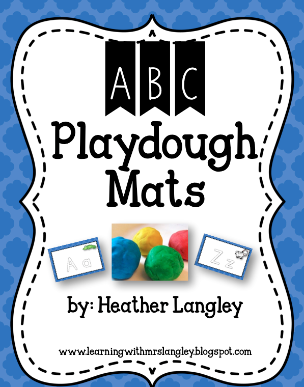 http://www.teacherspayteachers.com/Product/ABC-Playdough-Mats-1447958