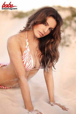 Kelly Brook Bikini Calendar Photoshoot