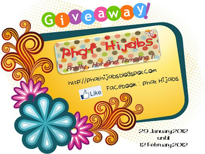 Phat Hijabs 2nd Giveaway