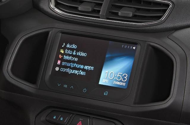 Novo Chevrolet Onix - interior