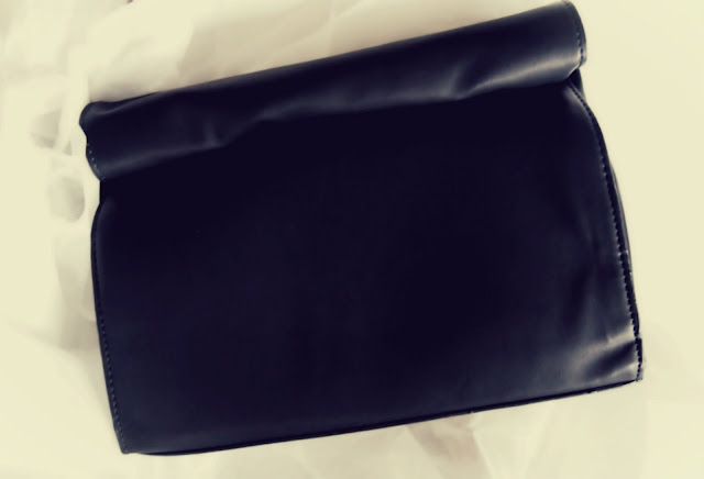 Zara lunch bag clutch