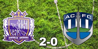 Sanfrecce Hiroshima 2-0 Auckland City