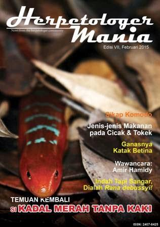 Unduh Majalah Herpetologer Mania Edisi 7