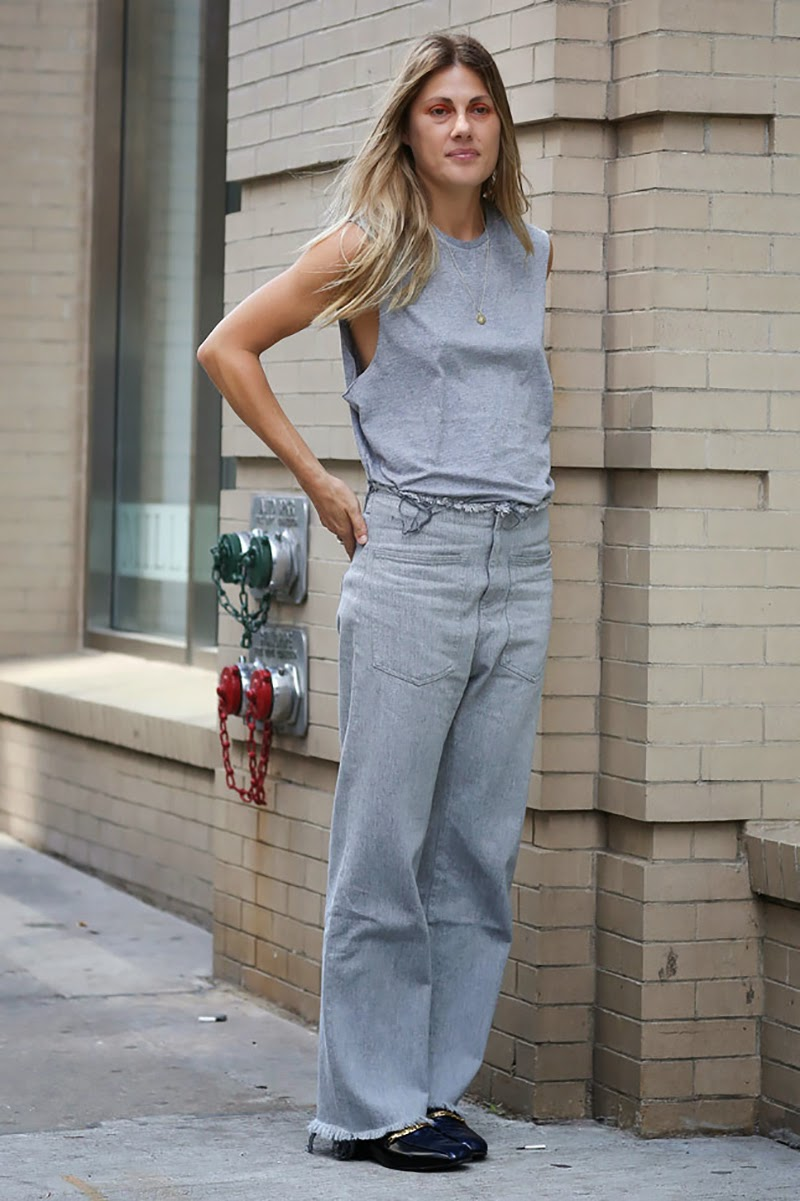 STREETSTYLE AT NEW YORK FASHION WEEK SPRING SUMMER 2015