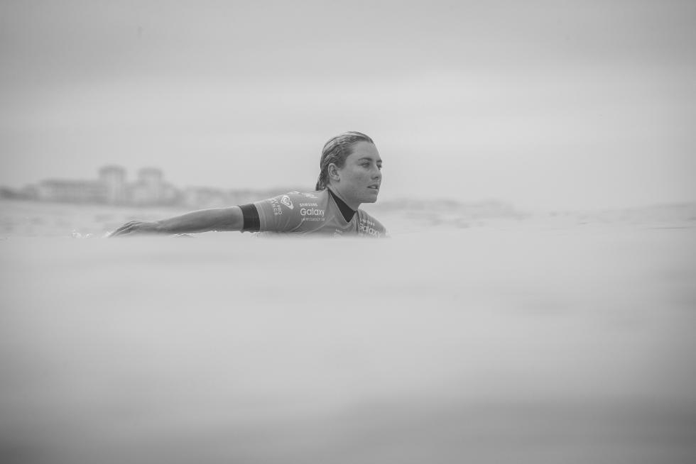 9 Nikki Van Dijk AUS Roxy Pro France Foto WSL Poullenot Aquashot