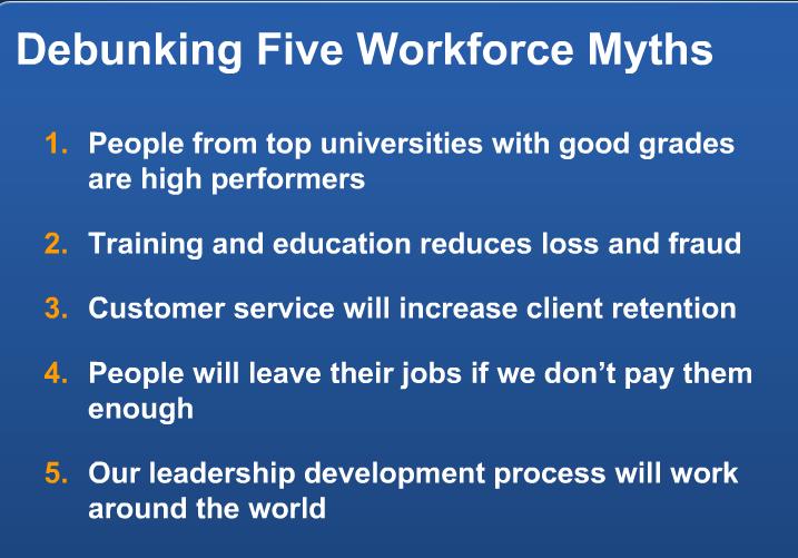 5 главных мифов в HR