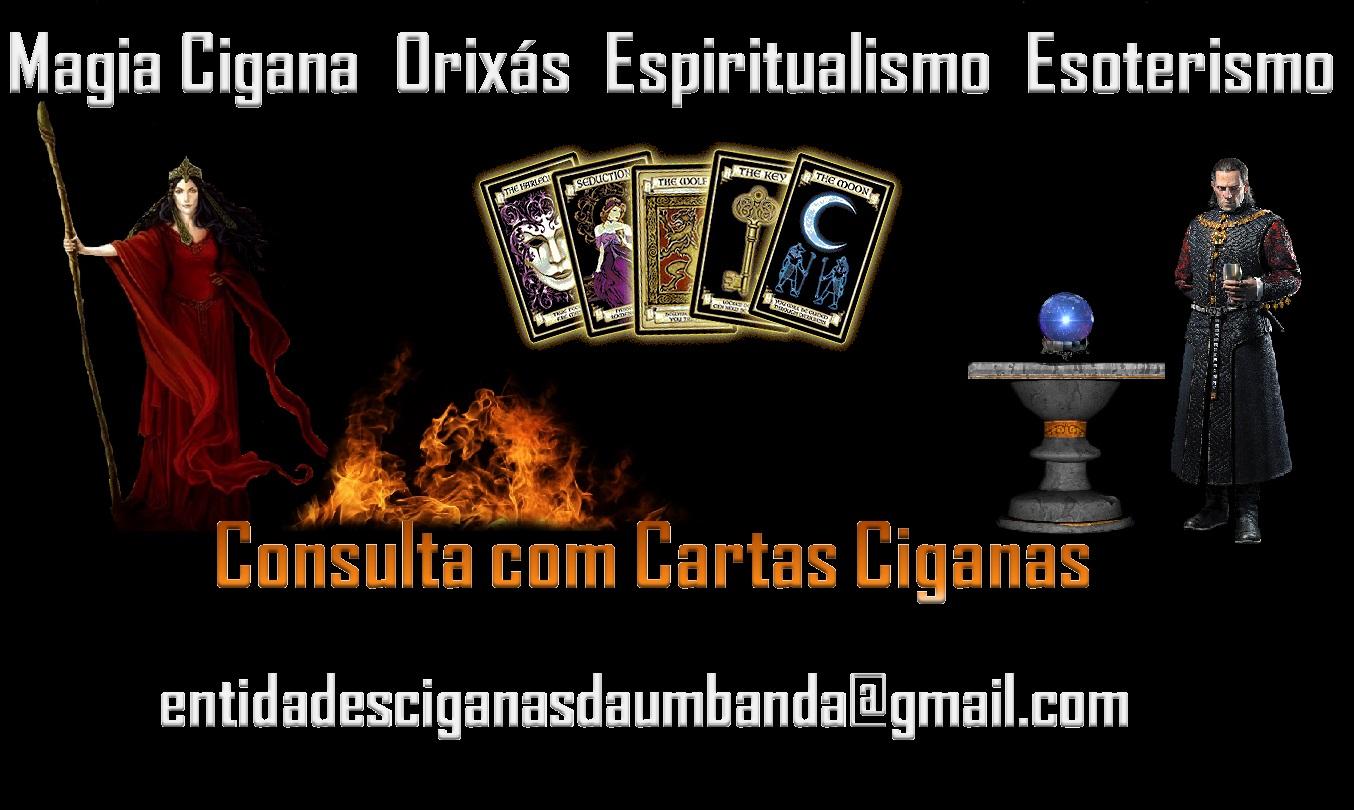 CLARIVIDÊNCIA COM ESPÍRITOS DOS CIGANOS