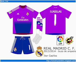 Real Madrid C. F. - 2013/2014 (buzo de arquero)