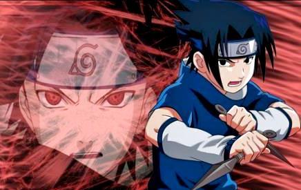 Dibujo de Sasuke Uchiha