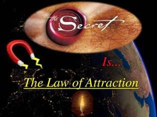 The Secret Law Of Attraction PPT Slide 1