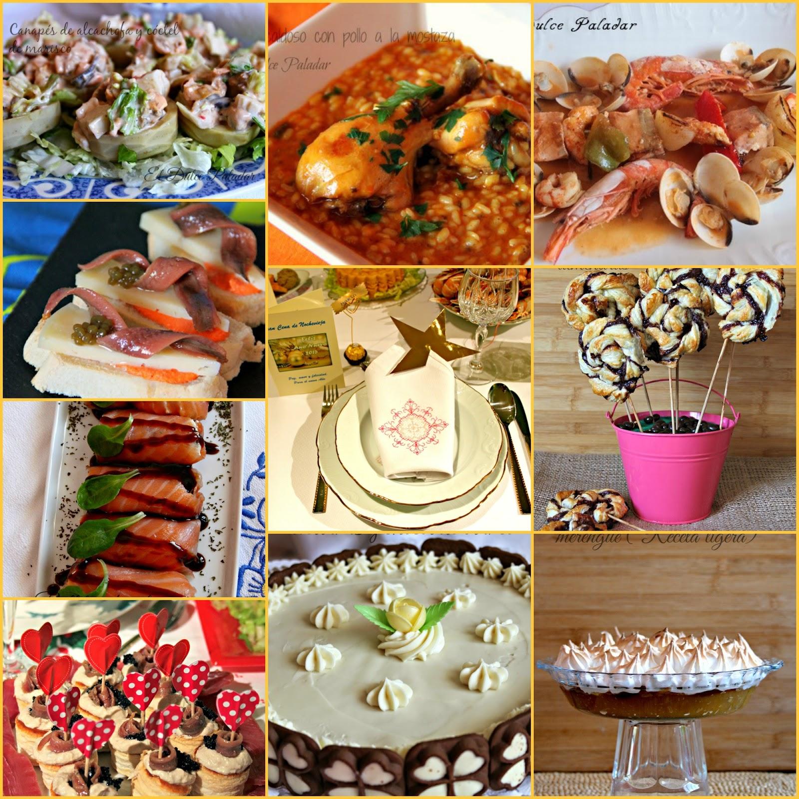 Men de nochevieja ideas y decoraci n el dulce paladar - Ideas para cena de nochevieja ...