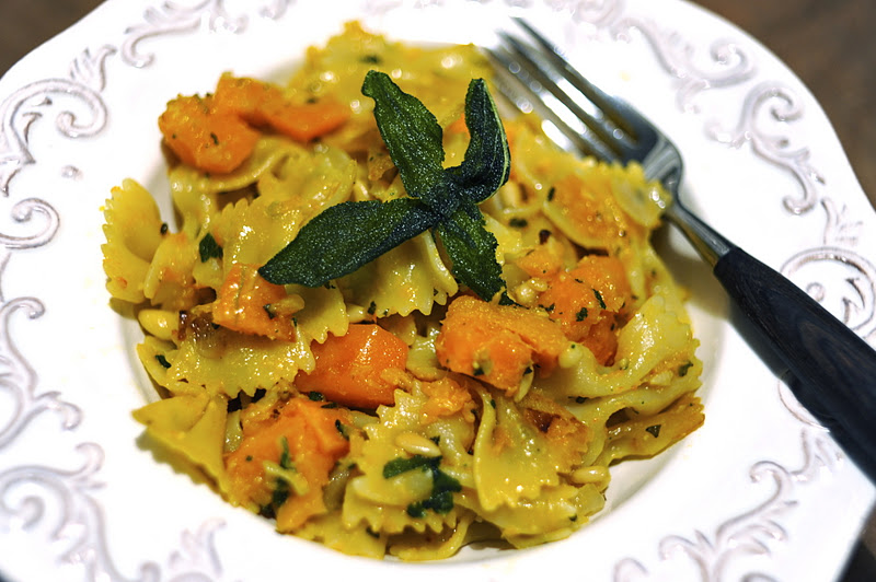 Vegan Good Things: Pasta with Butternut Squash, Fried Sage ...