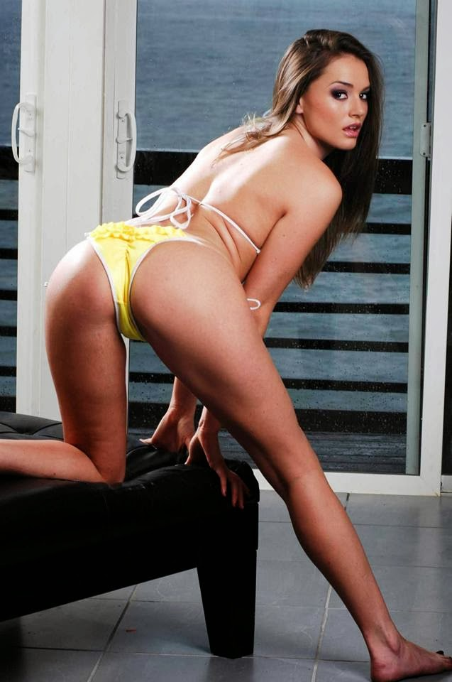 Tori Black in Hot Yellow Image HD