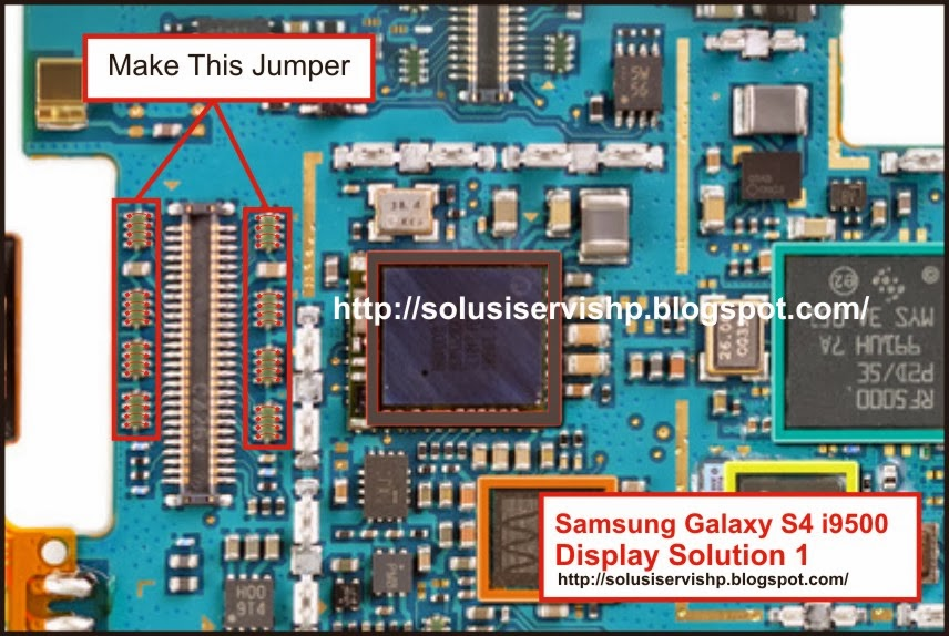 Samsung Galaxy S 4G i9500 Display Solution