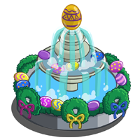 Spring Egg Fountain