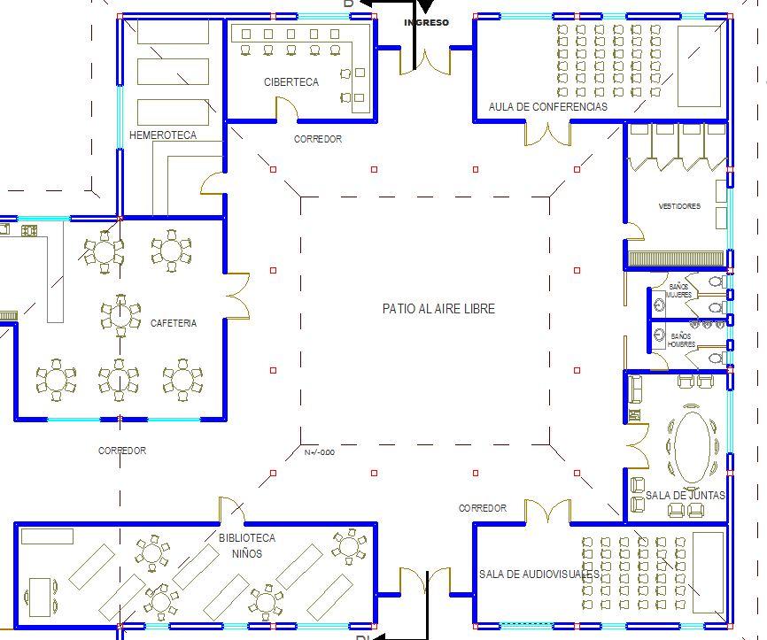 Baños Vestidores Empleados:REVISTA DIGITAL APUNTES DE ARQUITECTURA: Museo Interactivo en el