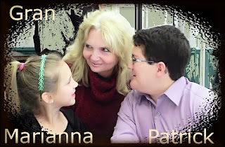 Gran with Marianna and Patrick 2013