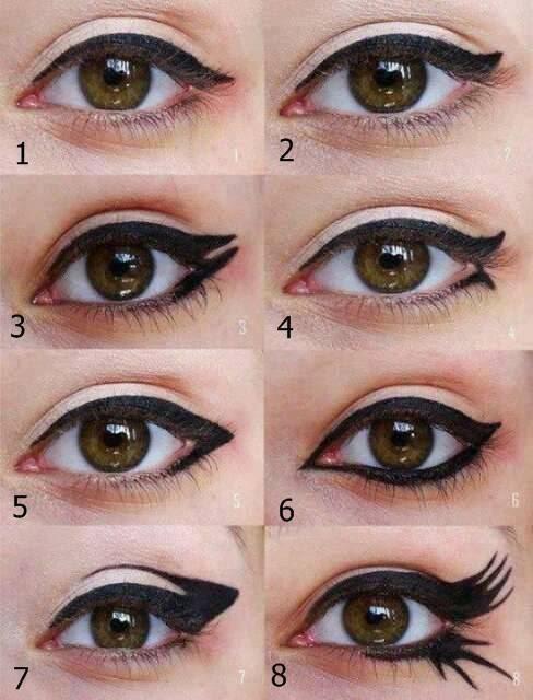 How to apply kajal on eyes tips tutorial in urdu b - Maneras de maquillarse ...