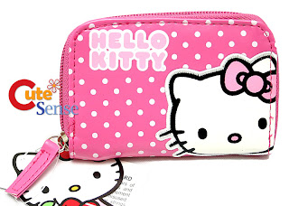 Hello Kitty spotty purse wallet