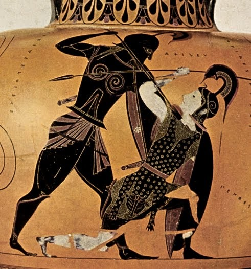 Quotidiano honebu di storia e archeologia omero l 39 iliade for Vasi antica grecia