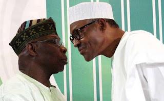 Buhari attacks Obasanjo, says he is confused, using God's name in vein