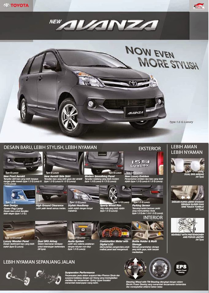 New Avanza Luxury