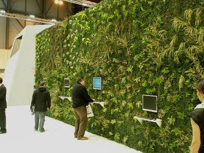 Muro sustentable qu es un muro verde for Muro verde sistema constructivo