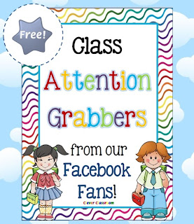 Free PDF Class attention Grabbers Clever Classroom