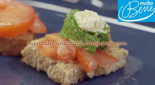 Bocconcini di chicken salad ricetta Parodi per Molto Bene su Real Time
