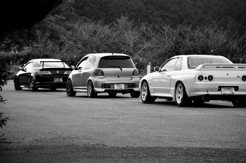 Honda Integra, Toyota Yaris, Nissan Skyline R32, samochody do sportu, japońskie auta
