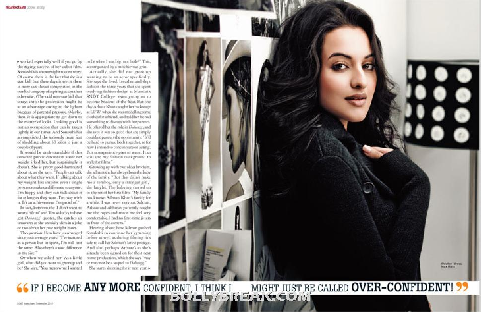 , Sonakshi Sinha Unseen Pics - Marie Claire Hq Scans November 2010