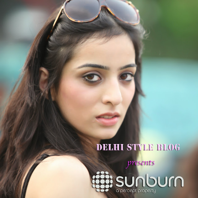 Akanksha Chauhan at Sunburn Noida 2013