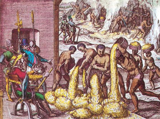 epoca colonial chile comida: