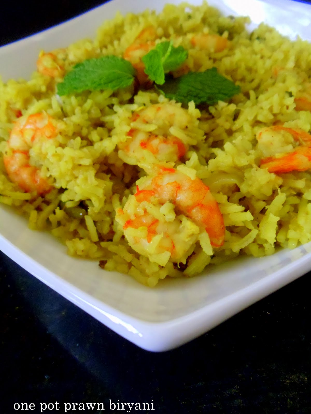 Cherie's Stolen Recipes: one pot prawn biryani
