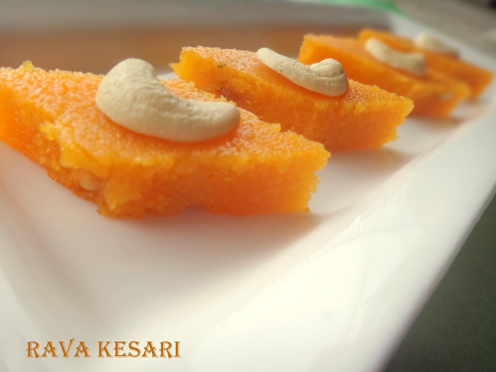 Prabha S Cooking Rava Kesari