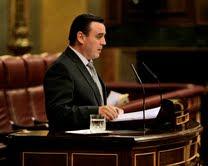 Foto de mi intervención en el Pleno en la IX Legislatura