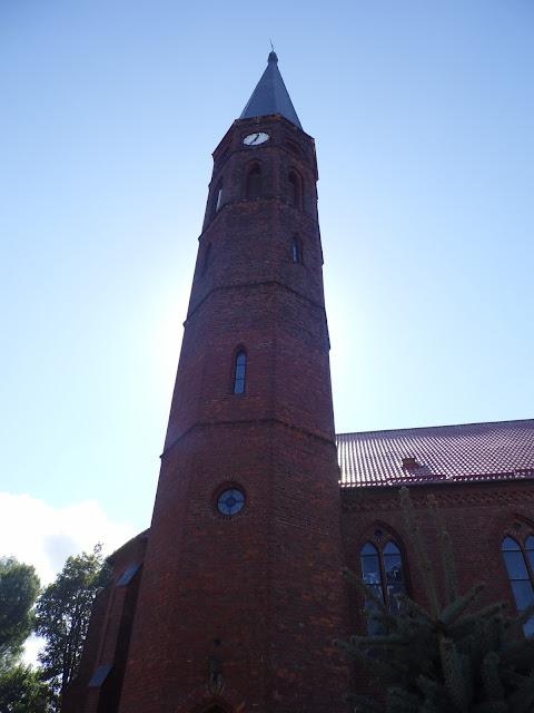 Sarbinowo - wieża kościoła