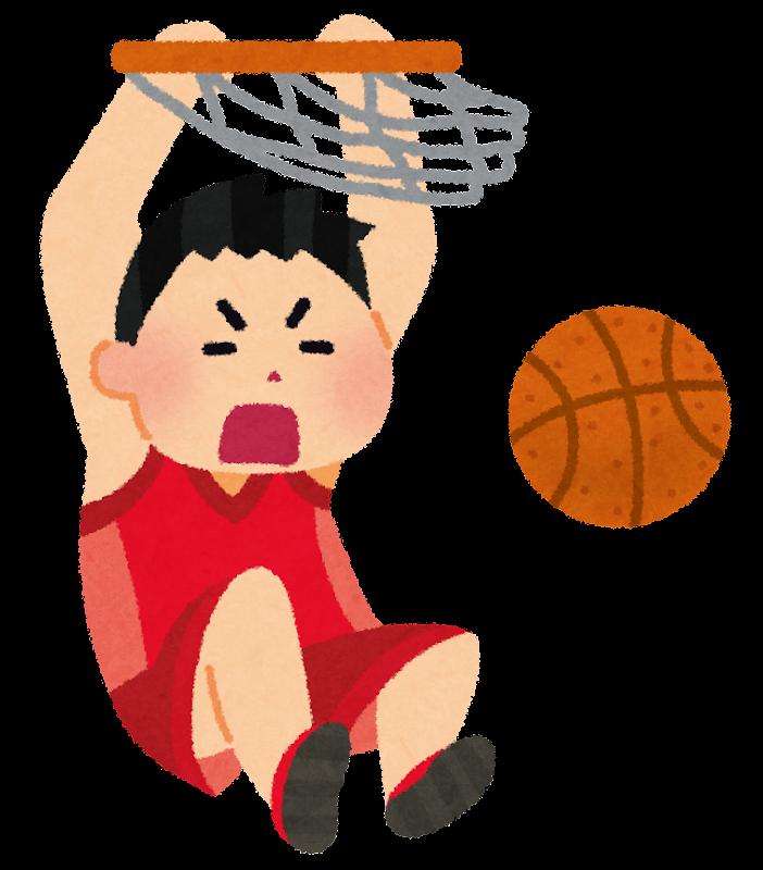 「バスケットボール選手 イラスト」の画像検索結果