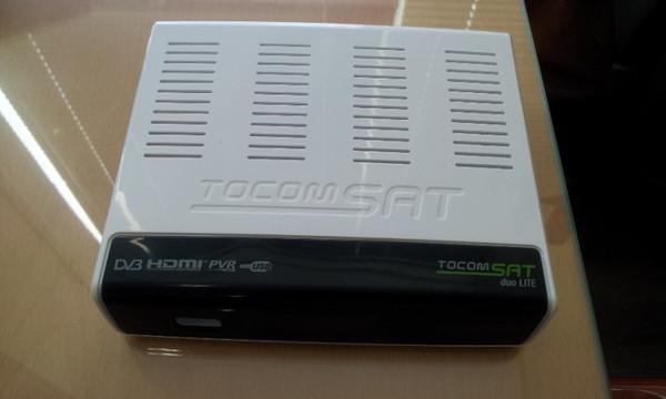 tocomsat - Nova Atualização Tocomsat Duo Lite SD .  data 11/07/2014. Tocom+lite+duo+sd