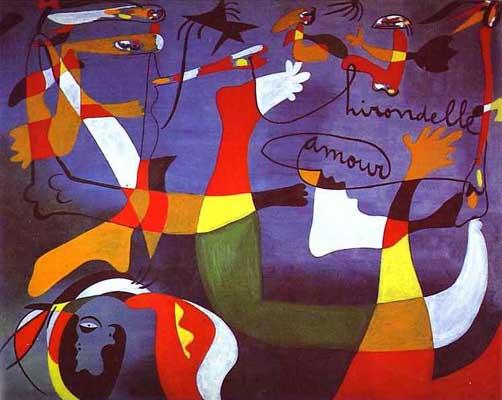 Surreal Art: Joan Miró a Spanish Catalan painter  Joan