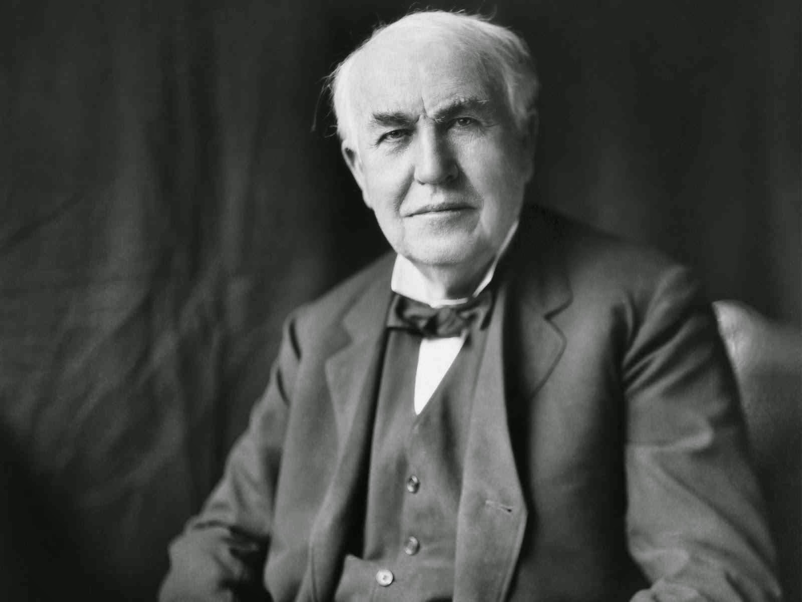 Scientist Thomas Edison Photo