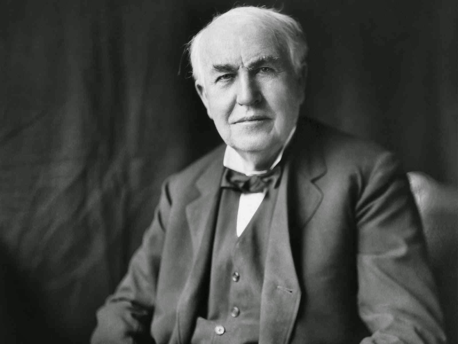 Scientist Thomas Edison Photo