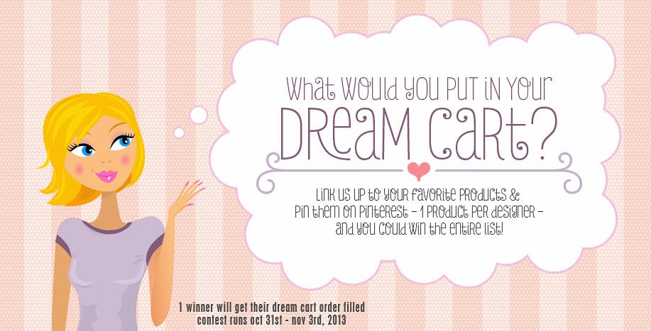 Win your Dream Cart | Pin one product per designer and link us up to your board