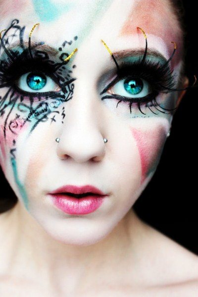 LATEST ALL FUN THINGS: scary halloween makeup ideas - Amazing Halloween Makeup