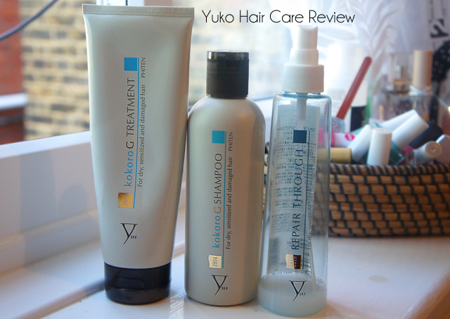 Yuko Kokoro G Treatment, Yuko Kokoro G Shampoo and Yuko Repair Through Review