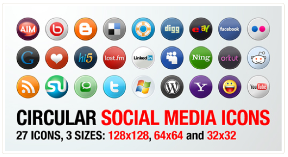 the ultimate roundup of amazing free social media icon