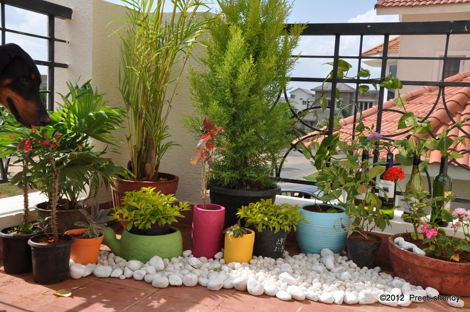 How to transform your balcony into a lovely garden for Decorate your balcony