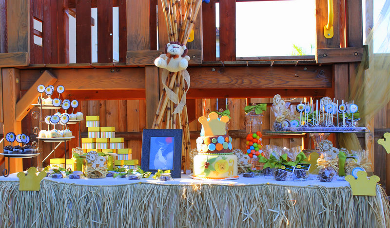 mkr creations king of the jungle baby shower theme