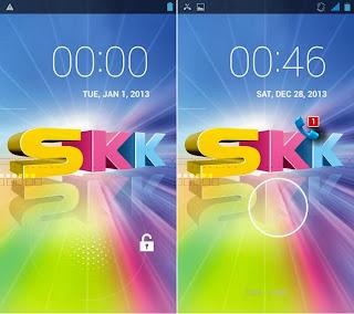 SKK Mobile Mirage S1 Lockscreen