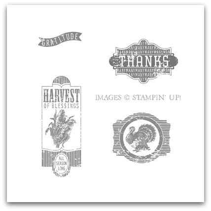 Harvest of Thanks Stamp Brush Set Digital Download by Stampin' Up!